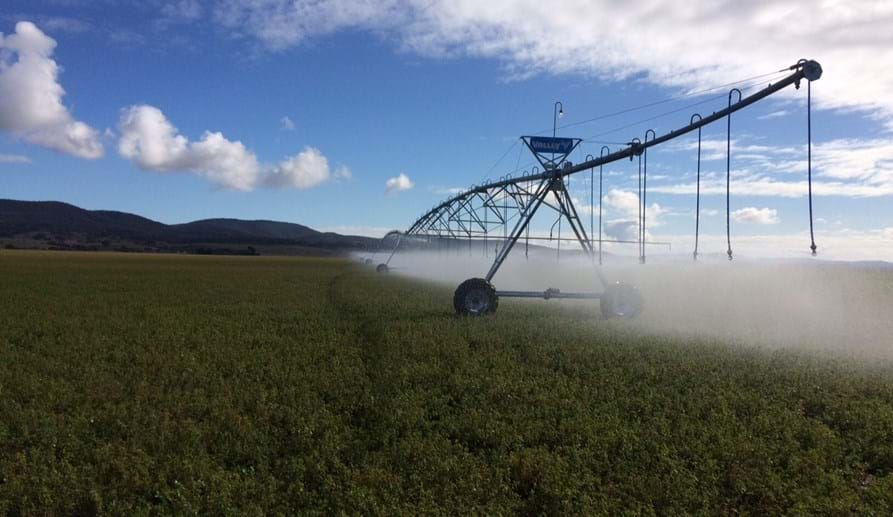 Valley Pivot Irrigation